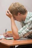 Vorbereitung für Prüfungen Lizenzfreies Stockfoto