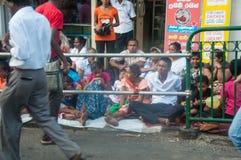 Vorbereitungen für das Festival Esala Perahera in Kandy auf Sri Lanka Lizenzfreie Stockfotografie