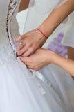 Vorbereitungen für die Hochzeit Lizenzfreie Stockbilder