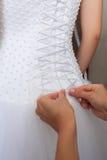 Vorbereitungen für die Hochzeit Lizenzfreies Stockfoto