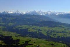Vorberge der Schweizer Alpen Lizenzfreies Stockfoto