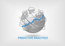 Vorbestimmtes Analytikkonzept als Illustration Lizenzfreie Stockfotos