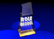 Vorbild-Example Mentor Award-Sieger stock abbildung