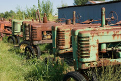 Vorbildliche B Traktoren 1939 John- Deere Lizenzfreie Stockfotografie