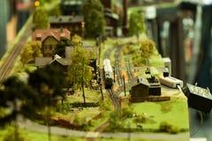 Die vorbildlichen Eisenbahnen Stockbilder