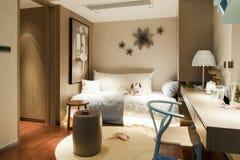 Vorbildliche Bedroom-Möbelausstellung Peking Lizenzfreie Stockbilder