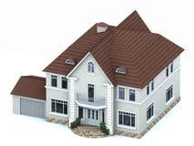 Vorbildliche Häuser Lizenzfreie Stockfotografie