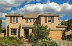 Vorbildliche Häuser lizenzfreie stockbilder