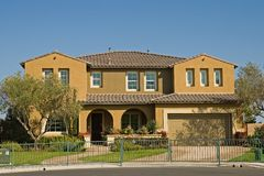 Vorbildliche Häuser stockbilder