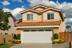 Vorbildliche Häuser stockfoto