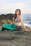 Vorbildliche Meerjungfrau Stockfotografie