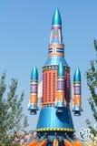 Vorbildliche Rakete stockfoto