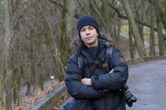Vorbildlicher Dmytro Tsykhmystro Jr Lizenzfreie Stockbilder