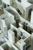 Vorbildlicher Haus-Innenraum Stockbild