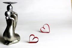 Vorbildlicher Liebhaber der Statue Lizenzfreie Stockbilder