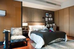 Vorbildliches Bedroom-Hotel Stockfoto