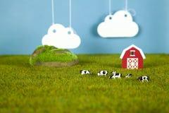 Vorbildliches Farm Stockfoto