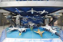 Vorbildliches Flugzeug lizenzfreie stockfotos