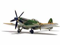 Vorbildliches Flugzeug Stockbild