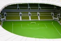 Vorbildliches Fußballstadion Lizenzfreies Stockbild