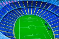Vorbildliches Fußballstadion Stockbild