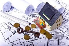 Vorbildliches Haus Lizenzfreies Stockfoto