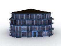 Vorbildliches Haus Stockbild