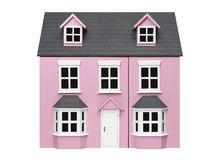 Vorbildliches Haus Lizenzfreies Stockbild