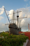 Vorbildliches Kriegsschiff Lizenzfreies Stockfoto