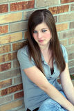 Vorbildliches Mädchen Lizenzfreie Stockfotografie