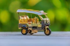 Vorbildliches Tuk Tuk-Taxi Thailand Stockfoto