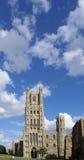 Vorderansicht der Ely Kathedrale Stockfoto