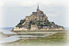 Vorderansicht des Saint Michel Stockbild