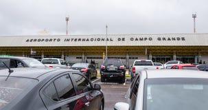Vorderansicht von Aeroporto Internacional de Campo Grande Stockfotos