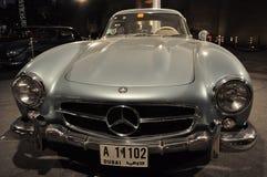 Vorderansicht von Modell 300 SL Mercedes Benzs 1955 Stockbild