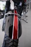Vorderansichtschutzblech des Motorrades Stockbild