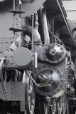 Vorderer Anschlagpuffer des Dampfmotors Stockbilder