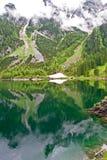 Vorderer Gosausee Austria. Vorderer Gosausee lake in Gasau Austria Stock Photography
