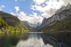 Vorderer Gosausee, Autriche Photos libres de droits