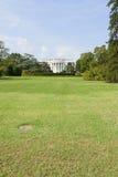 Vorderer Rasen des Weißen Hauses Stockfotos