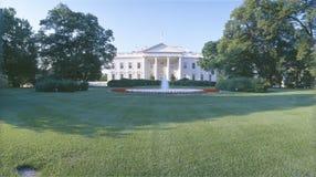 Vorderer Rasen des Weißen Hauses, Washington DC Lizenzfreies Stockfoto