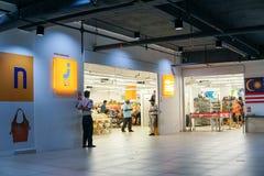 Vorderer Standort Speichers Jalan Jalan Japan in Seremban, Negeri Sembilan Der Speicher verkaufte verschiedenes prelove und ist s lizenzfreie stockfotos