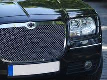 Vorderes Detail der Limousine Stockfoto