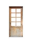 Vorderes Haus der Holztür Lizenzfreies Stockfoto