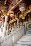 Vorderes porge des Tempels Stockfoto