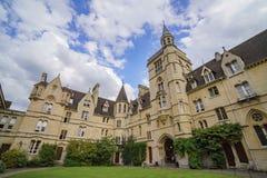 Vorderes Viereck Balliol-College lizenzfreies stockbild