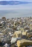 Vordergrund-Felsen und weicher Hintergrund Lizenzfreies Stockbild