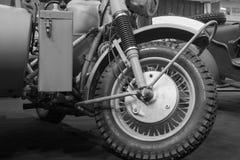 Vorderradmotorrad Lizenzfreies Stockfoto