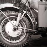 Vorderradmotorrad Stockbilder