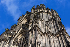 Vorderseite der Köln-Kathedrale, Deutschland Lizenzfreie Stockfotografie